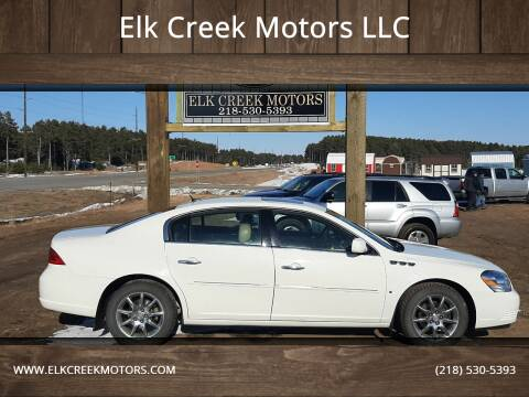 2007 Buick Lucerne for sale at Elk Creek Motors LLC in Park Rapids MN