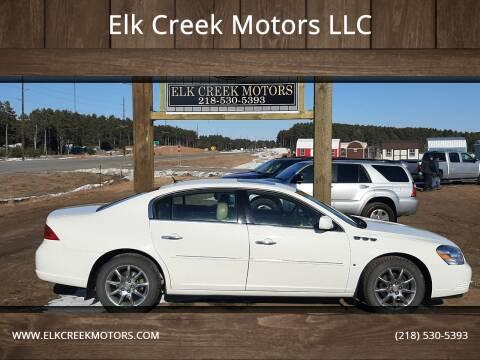 2007 Buick Lucerne for sale at Elk Creek Motors LLC in Park Rapids MN
