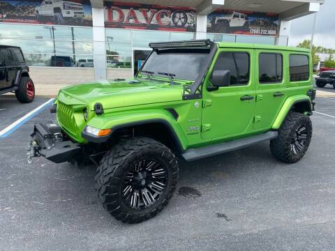 2019 Jeep Wrangler Unlimited for sale at Davco Auto in Fort Wayne IN