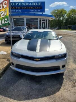 2014 Chevrolet Camaro for sale at Dependable Auto Sales in Montgomery AL