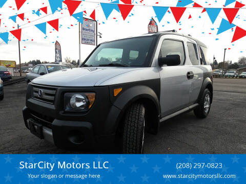 2007 Honda Element for sale at StarCity Motors LLC in Garden City ID