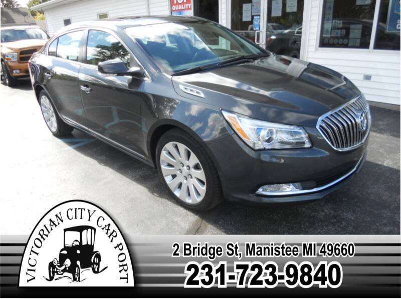 2015 Buick LaCrosse for sale at Victorian City Car Port INC in Manistee MI