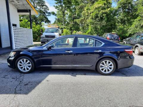 2007 Lexus LS 460 for sale at PIRATE AUTO SALES in Greenville NC