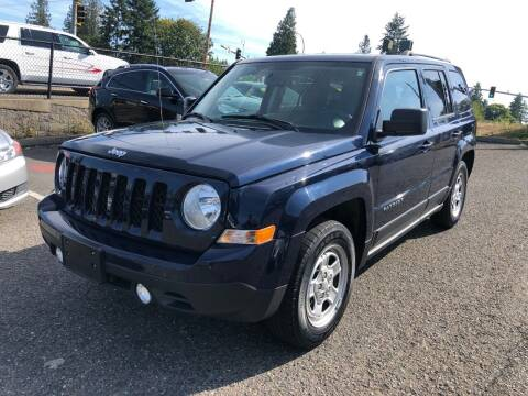 2016 Jeep Patriot for sale at KARMA AUTO SALES in Federal Way WA