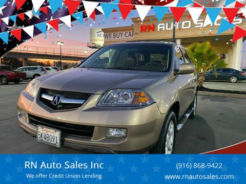 2004 Acura MDX for sale at RN Auto Sales Inc in Sacramento CA