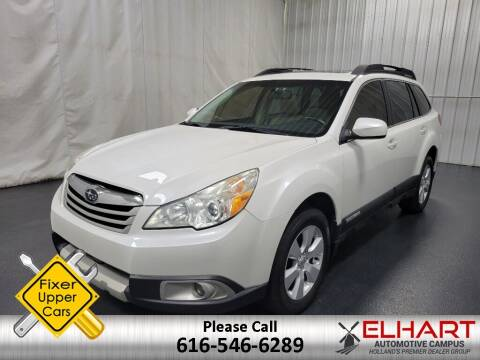 2011 Subaru Outback for sale at Elhart Automotive Campus in Holland MI