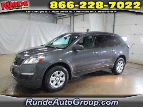 2013 Chevrolet Traverse for sale at Runde Chevrolet in East Dubuque IL