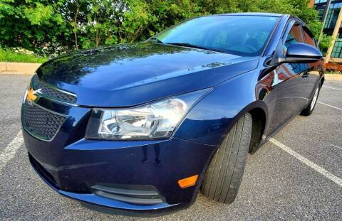 2014 Chevrolet Cruze for sale at Auto Wholesalers Of Rockville in Rockville MD