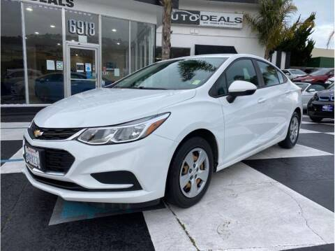 2017 Chevrolet Cruze for sale at AutoDeals in Daly City CA
