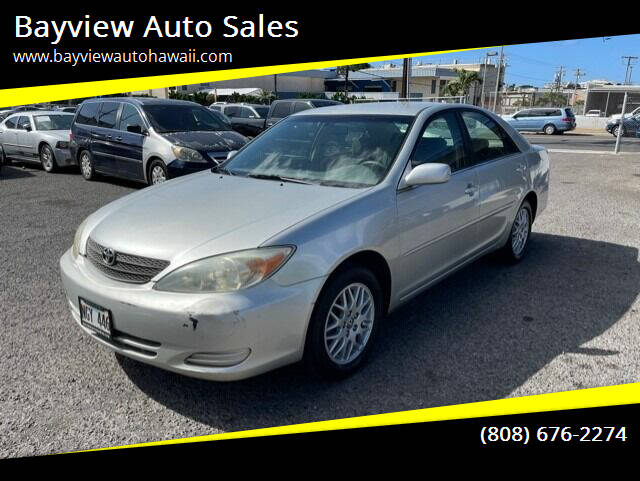 2005 Toyota Camry for sale at Bayview Auto Sales in Waipahu HI