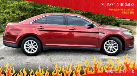 2014 Ford Taurus for sale at Square 1 Auto Sales - Commerce in Commerce GA