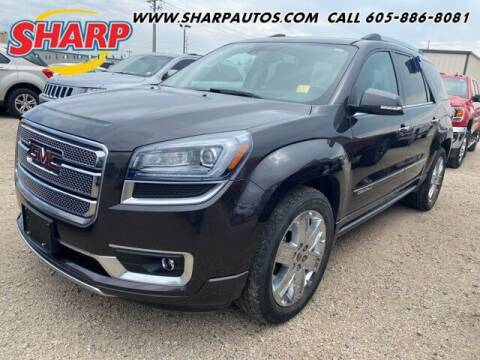 2016 GMC Acadia for sale at Sharp Automotive in Watertown SD
