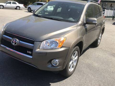 2009 Toyota RAV4 for sale at Auto Cars in Murrells Inlet SC