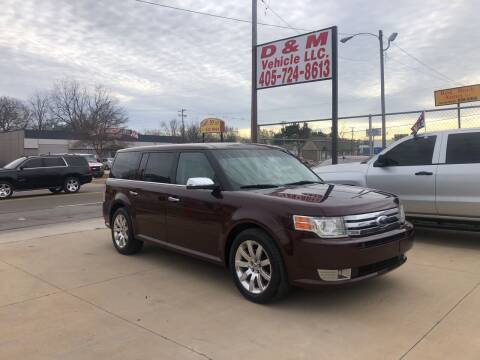 2009 Ford Flex for sale at D & M Vehicle LLC in Oklahoma City OK