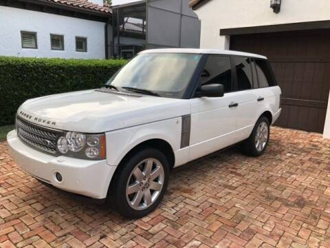 2006 Land Rover Range Rover for sale at DENMARK AUTO BROKERS in Riviera Beach FL
