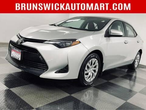 2018 Toyota Corolla for sale at Brunswick Auto Mart in Brunswick OH