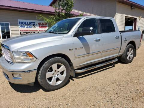 2010 Dodge Ram Pickup 1500 for sale at Hollatz Auto Sales in Parkers Prairie MN
