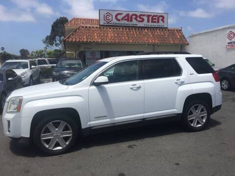 2011 GMC Terrain for sale at CARSTER in Huntington Beach CA