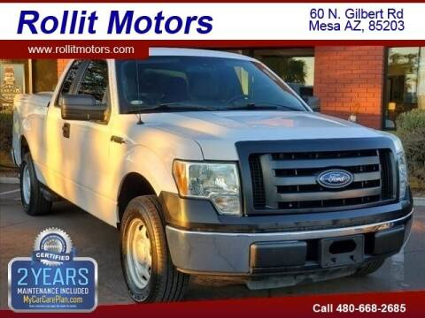 2010 Ford F-150 for sale at Rollit Motors in Mesa AZ