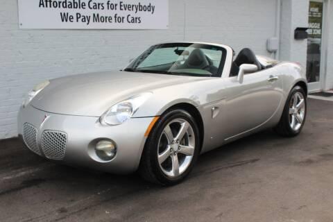 2007 Pontiac Solstice for sale at Oak City Motors in Garner NC
