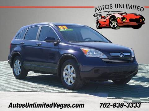 2009 Honda CR-V for sale at Autos Unlimited in Las Vegas NV