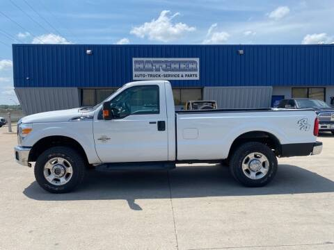 2012 Ford F-250 Super Duty for sale at HATCHER MOBILE SERVICES & SALES in Omaha NE