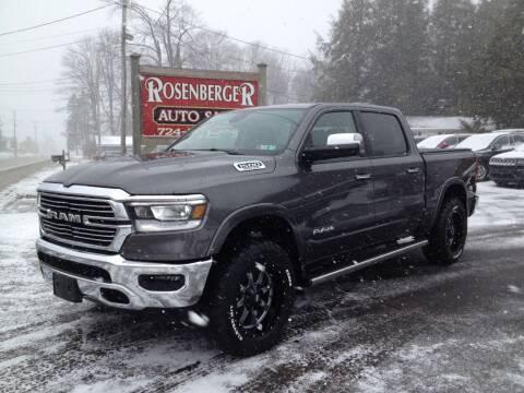2019 RAM Ram Pickup 1500 for sale at Rosenberger Auto Sales LLC in Markleysburg PA