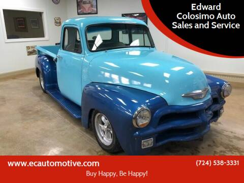 1955 Chevrolet 3100 for sale at Edward Colosimo Auto Sales and Service in Evans City PA