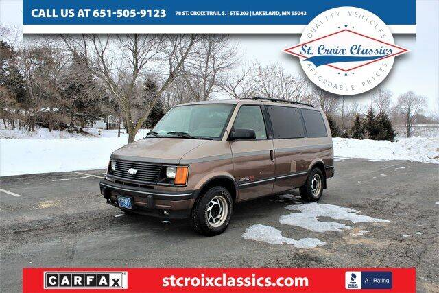 1994 Chevrolet Astro for sale at St. Croix Classics in Lakeland MN