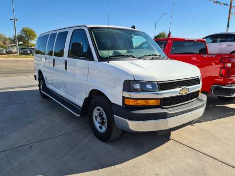 2016 Chevrolet Express Passenger for sale at A AND A AUTO SALES in Gadsden AZ