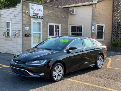 2016 Chrysler 200 for sale at Major Key Motors in Lebanon PA