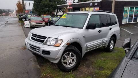 2002 Mitsubishi Montero for sale at SS MOTORS LLC in Edmonds WA
