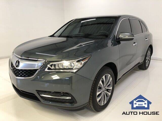 2014 Acura MDX for sale at Auto House Phoenix in Peoria AZ