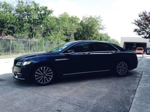 2017 Lincoln Continental for sale at 57 Auto Sales in San Antonio TX