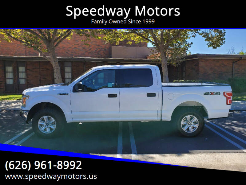 2018 Ford F-150 for sale at Speedway Motors in Glendora CA