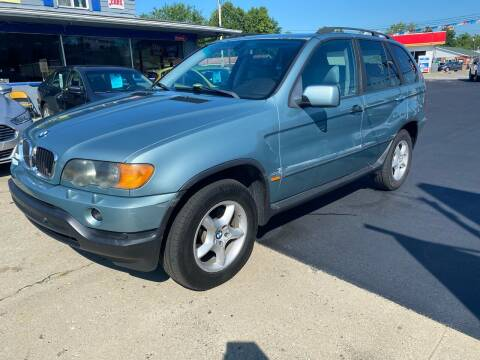 2002 BMW X5 for sale at Wise Investments Auto Sales in Sellersburg IN