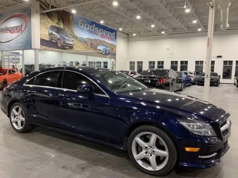 2013 Mercedes-Benz CLS for sale at Godspeed Motors in Charlotte NC