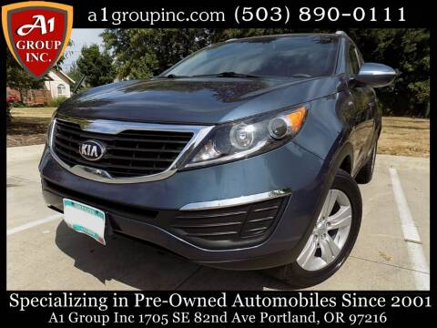 2013 Kia Sportage for sale at A1 Group Inc in Portland OR