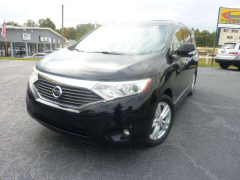 2012 Nissan Quest for sale at Roswell Auto Imports in Austell GA