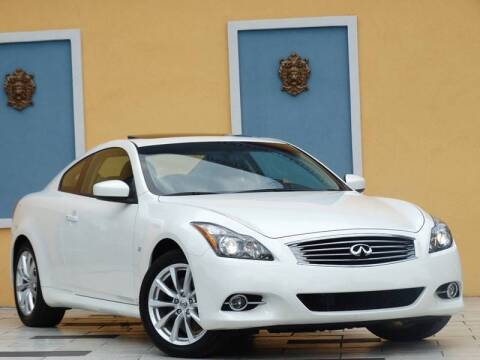 2014 Infiniti Q60 Coupe for sale at Paradise Motor Sports LLC in Lexington KY