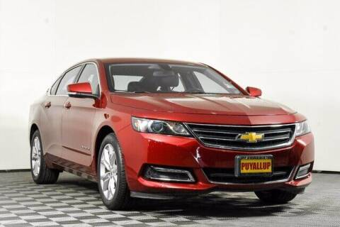 2018 Chevrolet Impala for sale at Washington Auto Credit in Puyallup WA