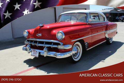 1954 Chevrolet Bel Air for sale at American Classic Cars in La Verne CA