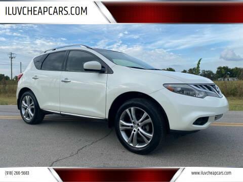 2012 Nissan Murano for sale at ILUVCHEAPCARS.COM in Tulsa OK