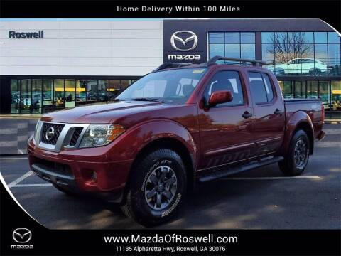 2021 Nissan Frontier for sale at Mazda Of Roswell in Roswell GA