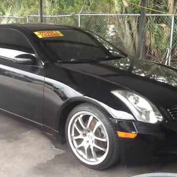 2006 Infiniti G35 for sale at Easy Credit Auto Sales in Cocoa FL