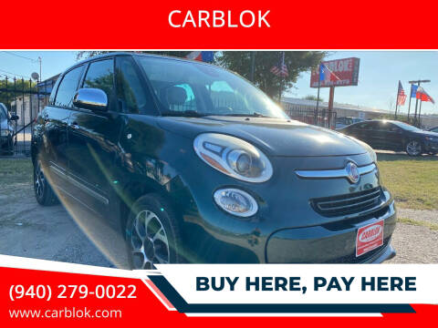 2014 FIAT 500L for sale at CARBLOK in Lewisville TX