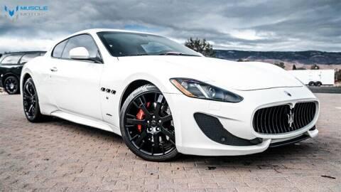 2017 Maserati GranTurismo for sale at MUSCLE MOTORS AUTO SALES INC in Reno NV
