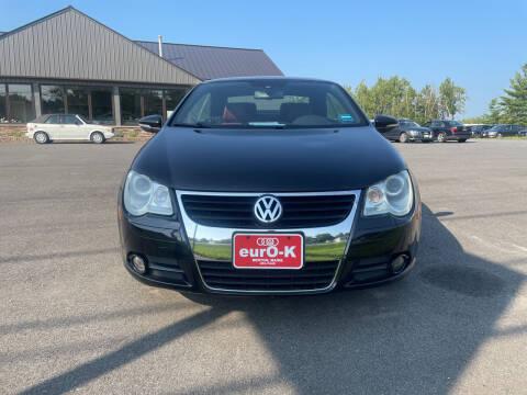 2009 Volkswagen Eos for sale at eurO-K in Benton ME