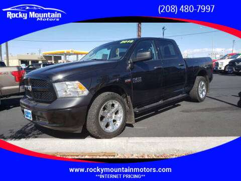2018 RAM Ram Pickup 1500 for sale at Rocky Mountain Motors in Idaho Falls ID