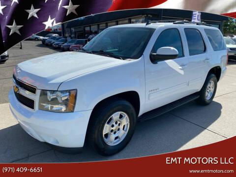2012 Chevrolet Tahoe for sale at EMT MOTORS LLC in Portland OR